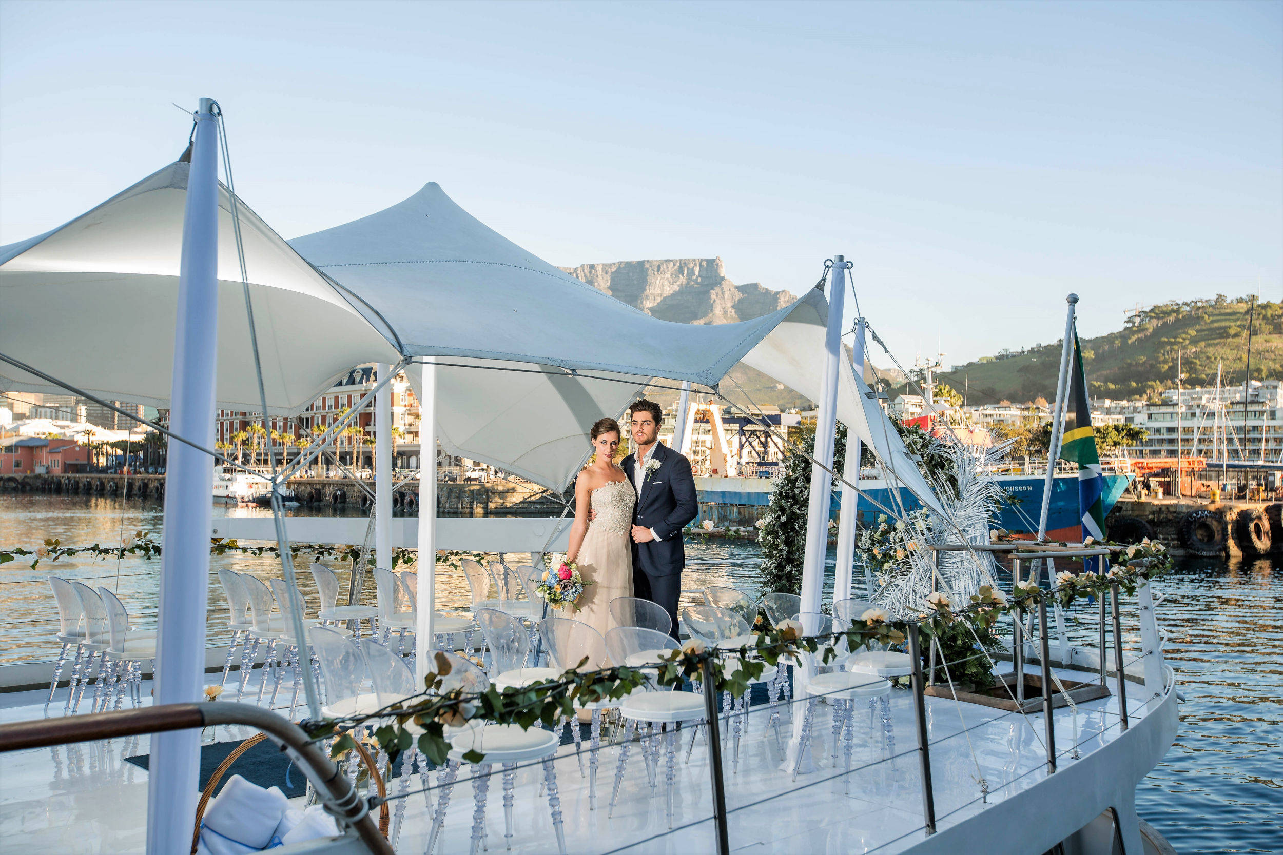 Wedding on Jackie O Luxury Yacht