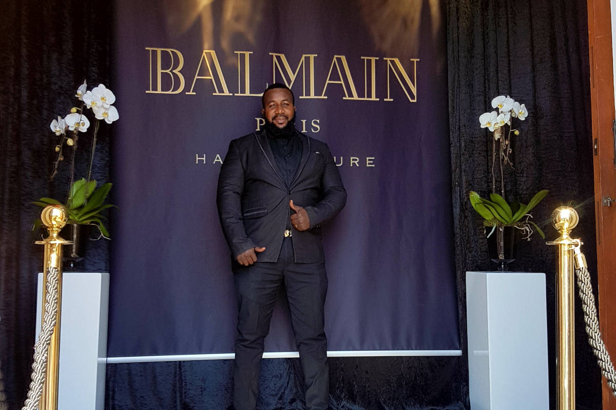 Balmain Hair Couture Launch